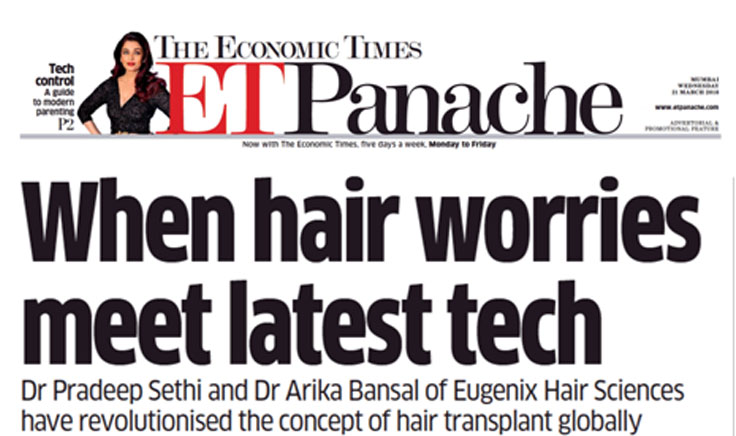 When hair worries meet latest tech at Eugenix Hair Sciences