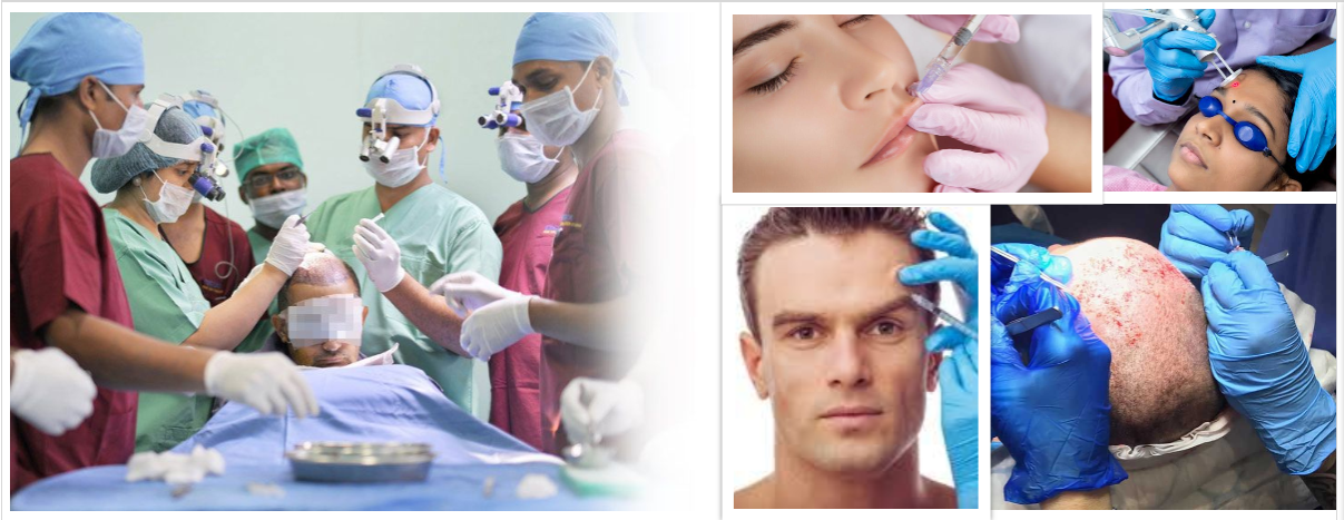 Exclusive Hair Transplant clinics vs Complete cosmetic care clinics